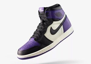 *Limited Air Jordan 1s* pine green and court purple