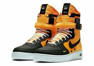 Nike SF AF1 Air Force One High Sneakers Shoes LASER ORANGE 864024 800 Mens (Af1 Sneakers)