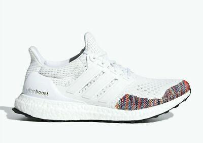 1aaeb01c (BB7800) adidas Ultra Boost 1.0 Multi-Color Toe White *NEW*