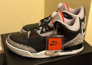 Looking for sz 9.5 Black Cement 3's!