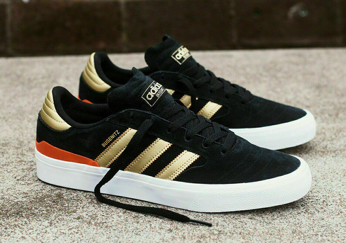 adidas Originals Men Busenitz Vulc II Black Athletic Skate S