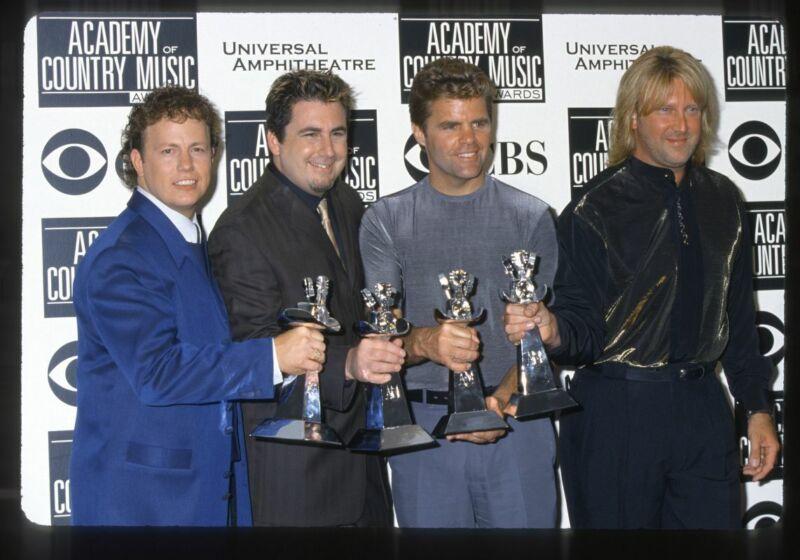 2000 LONESTAR w/ Country Music Award Original 35mm Slide Transparency