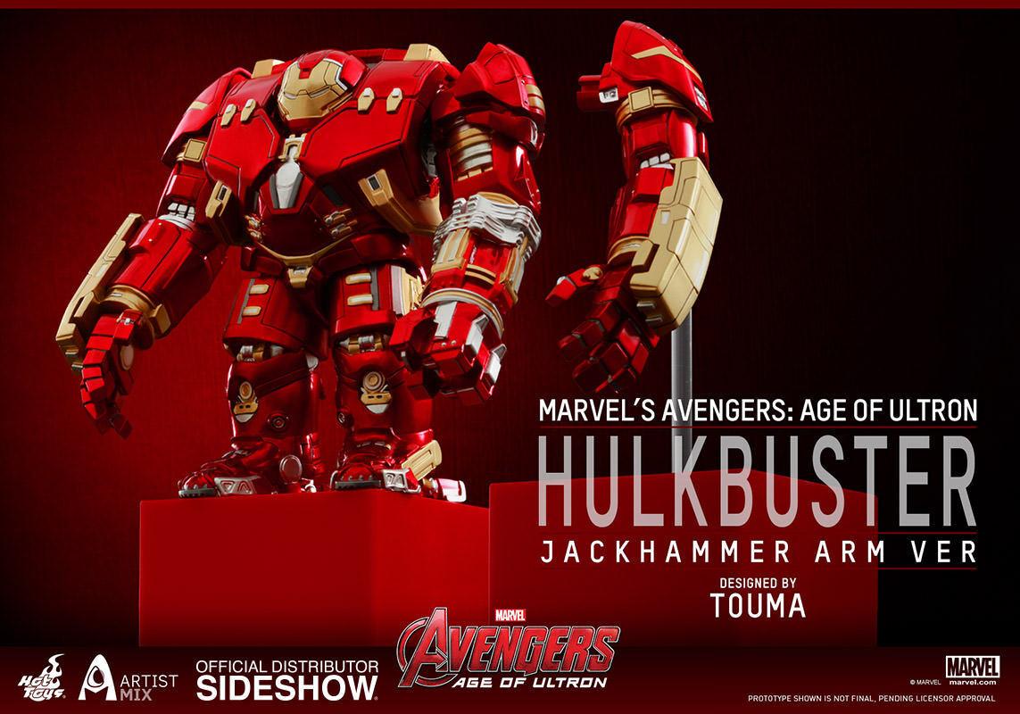 Hot Toys Touma Artist Mix Avengers 6 Special HULKBUSTER Jackhammer Arm Version Action- & Spielfiguren