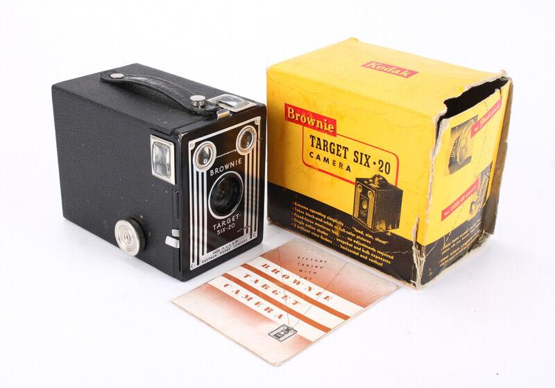 KODAK BROWNIE TARGET SIX-20, BOXED/205879