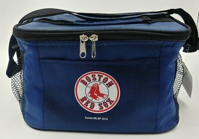 MLB Boston Red Sox Lunch Bag - Insulated Box Tote - 6-Pack Cooler