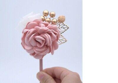 nnière Ansteckblume für den Bräutigam Hochzeit Wedding (Ansteckblume Hochzeit)