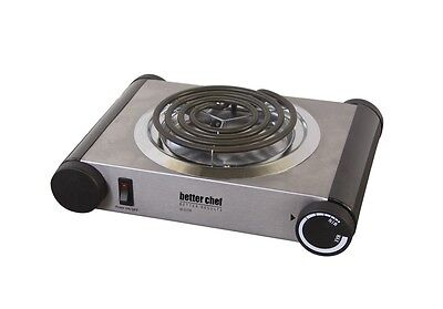 Better Chef 1000W Stainless Steel  Electric ...