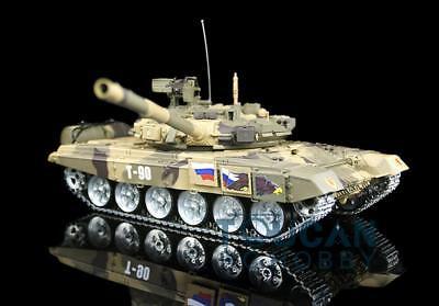 Henglong 1/16 Scale Customzied Russia T90 RTR RC Tank 3938 Metal Tracks Wheels