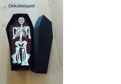 alloween Deko Stanzteile Streuteile Scrapbooking Skelett (Halloween Skelett-teile)