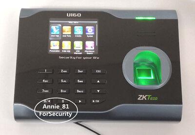 Zkteco U160 Tcpip Fingerprint Time Attendance Zk Wifi Fingerprint Time Clock