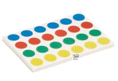 Maul Markierungspunkte Klebepunkte Ø 15mm 40 Blatt / 960 Stück 4 Farben 6393499