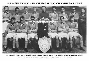 BARNSLEY-F-C-TEAM-PRINT-1955-DIV-3-NORTH-CHAMPIONS