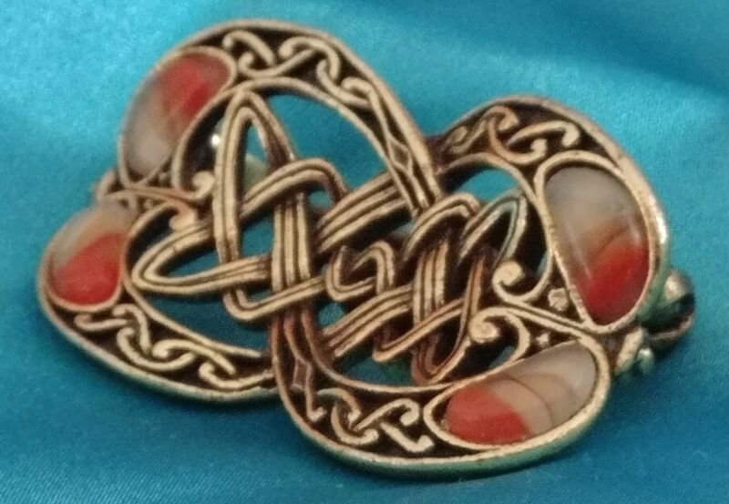 Vintage Miracle Brand Reproduction of Antique Celtic Brooch RARE ...