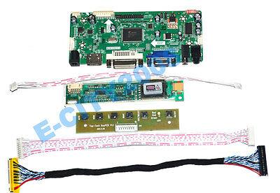 VGA+DVI+HDMI+AUDIO+IR LCD Controller Board for LTN141WD-L07 Panel 1440*900 Dvi-hdmi-audio -