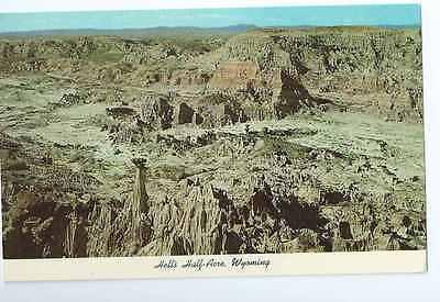 Hell's Half Acre, Wyoming Scenic Postcard