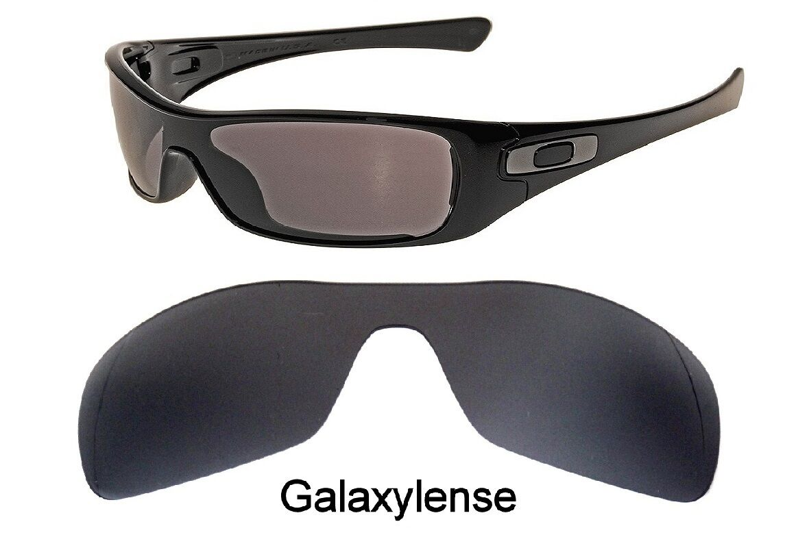 9150f0562b Galaxy Replacement Lenses for Oakley Antix Black color Polarized 100% UVAB