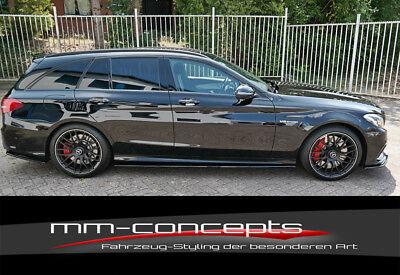 CUP Dachspoiler Ansatz CARBON Mercedes C Klasse W205 S205 63 AMG Verlängerung