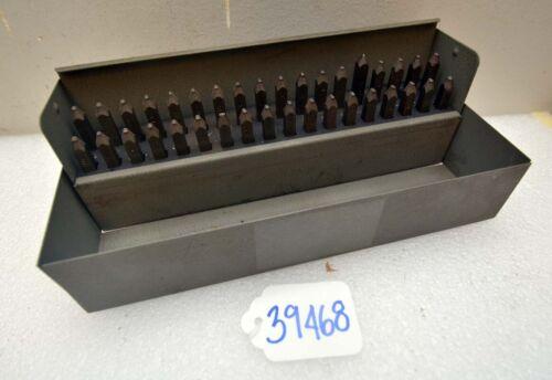 Set of Markrite Letter and Number Stamp Set (Inv.39468)