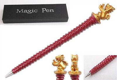 Harry Potter Hogwarts House Gryffindor Plated Red Pen Xmas Gifts Best