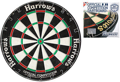 HARROWS OCBB Bristle Dartboard Dart Dartscheibe für Steeldarts Darts