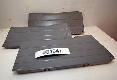 Large Lot Of 10 Lista Vidmar Style Drawer Dividers Inv.34641
