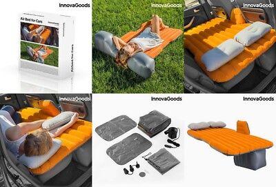Cama colchon Hinchable para Coches, inflador electrico,2 almohadas,viaje,camping