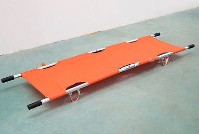 Aluminum Alloy Foldable Stretcher Medicalhome Patient Emergency Stretcher Bed