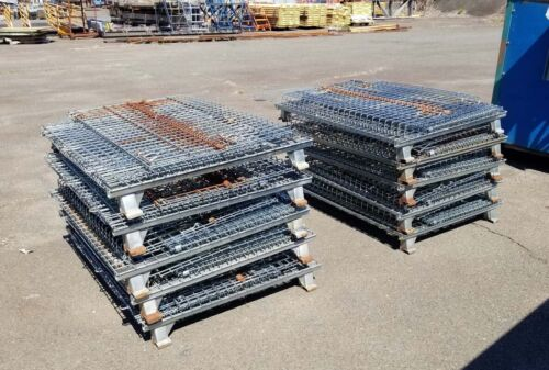 "Used Wire Basket, 40 X 48 X 30"", Inventory 40495"