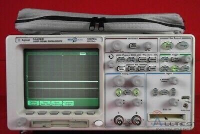 Hp - Agilent - Keysight 54622d 216 Channel 100 Mhz Mixed-signal Oscilloscope