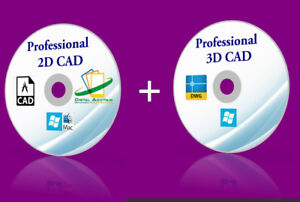 2018 2D 3D CAD program software drafting open AutoCAD DWG file WINDOWS 10 8 7