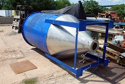 Jenike & Johanson Stainless Steel Hopper 230000 cubic inches (Inv.19965)