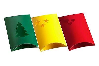 EICHNER Geschenkverpackung Weihnachten Pillow-Boxen Kissenschachtel Geschenkbox