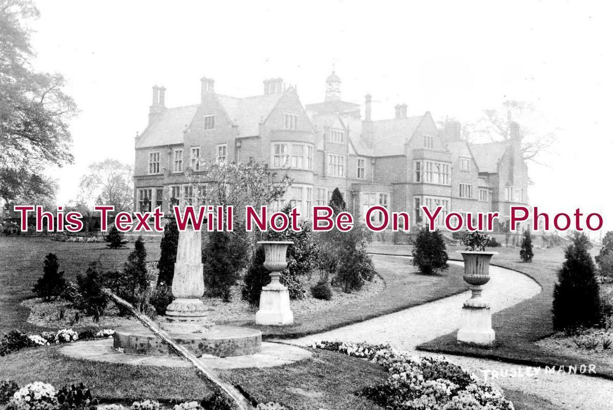 DR 1070 - Trusley Manor, Trysley, Derbyshire c1946