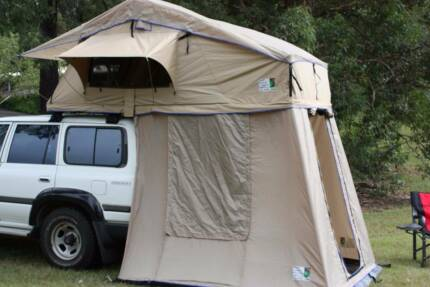ROOF TOP TENT + BOTTOM ROOM + SIDE AWNING COMBO  2.5M X 2M