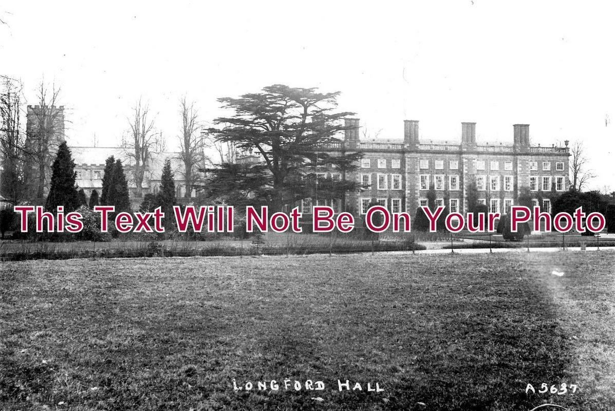 DR 1014 - Longford Hall, Derbyshire