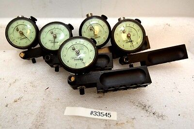 1 Lot Of 5 Mahr Federal 12i-rc-x Dial Indicators Inv.33545