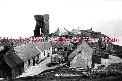 SC 666 - Old Slains Castle, Cruden Bay, Aberdeenshire, Scotland c1910