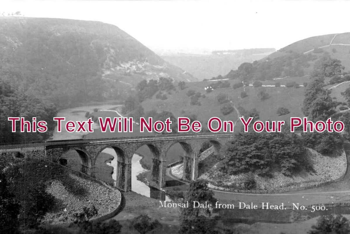 DR 1055 - Monsal Dale From Dale Head, Derbyshire