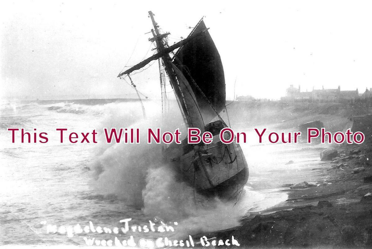 DO 1069 - Magdelene Tristan Shipwreck, Chesil Beach, Weymouth, Portland, Dorset