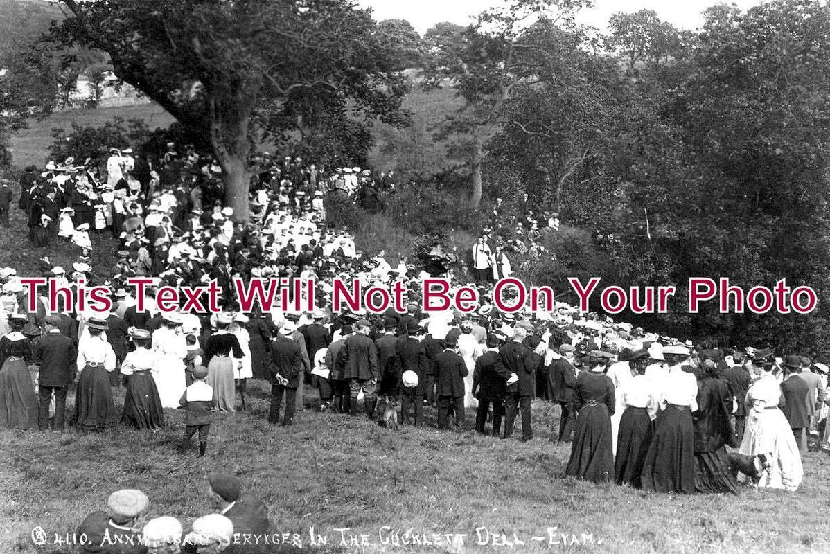 DR 1067 - Anniversary Services, Eyam, Grindleford, Derbyshire 1907