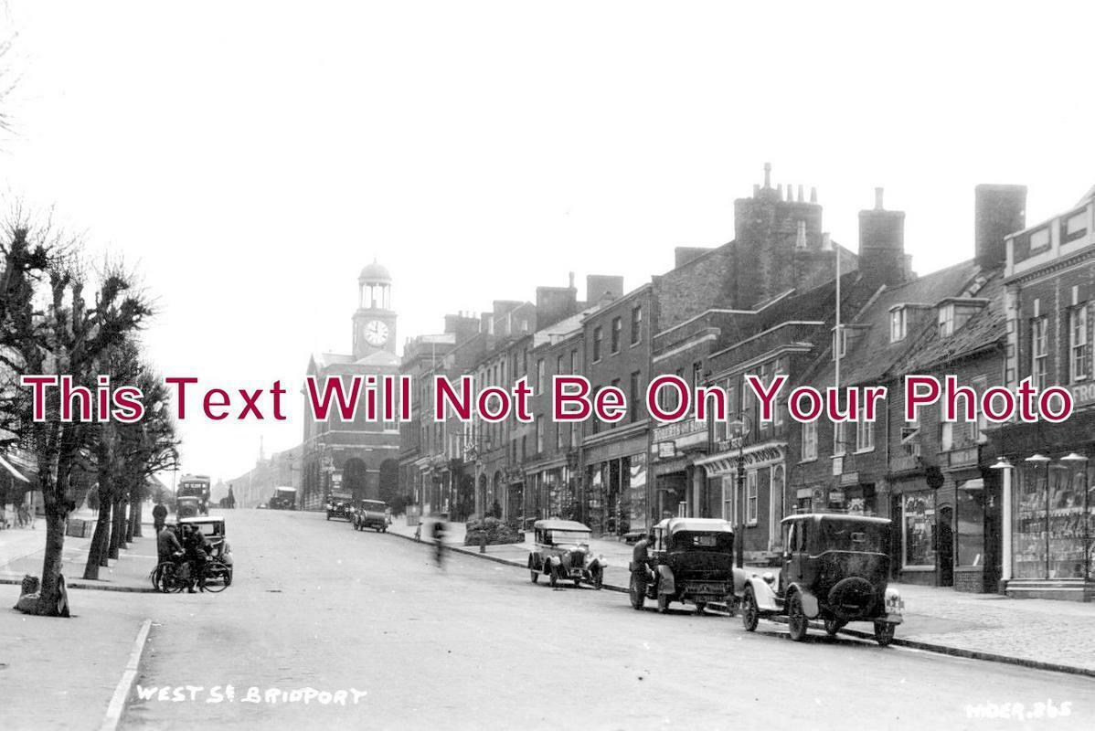 DO 1042 - West Street, Bridport, Dorset