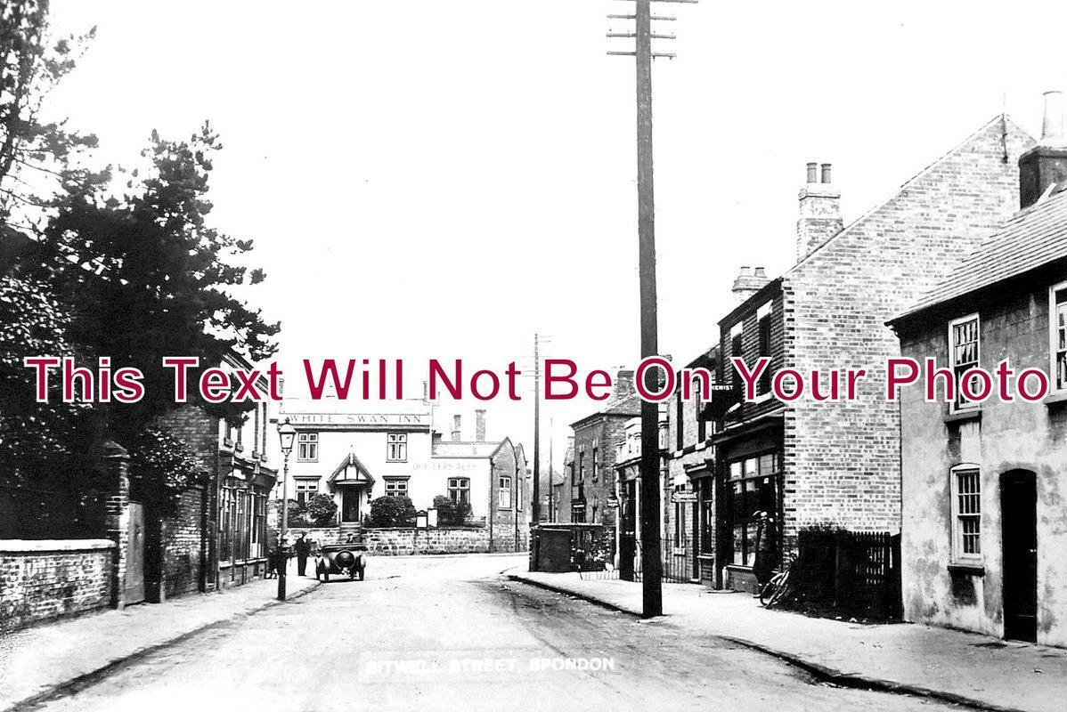 DR 1029 - Sitwell Street, Spondon, Derbyshire c1915