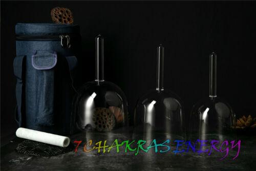 crystal singing handle bowl 528hz practitioner bowl quartz sound therapy