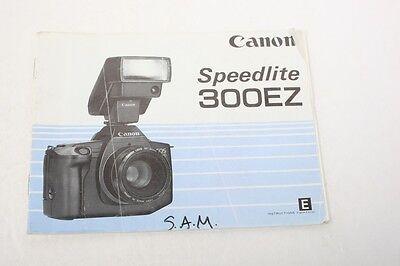 Инструкции и руководства Canon Speedlite 300