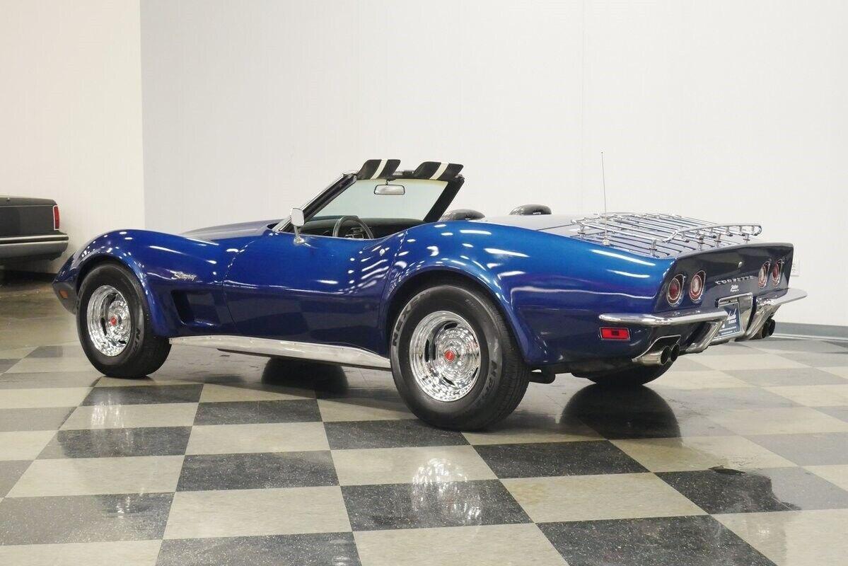 1973 Blue Chevrolet Corvette Convertible    C3 Corvette Photo 9