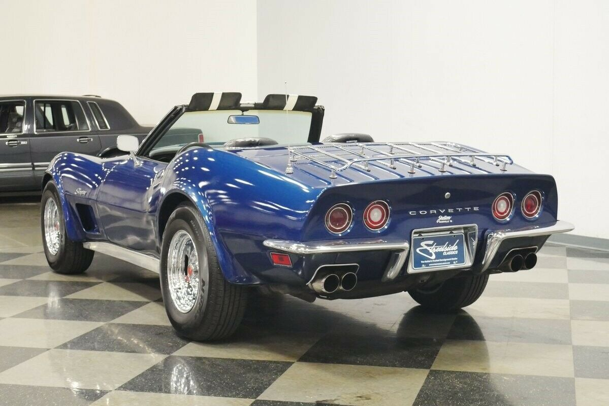 1973 Blue Chevrolet Corvette Convertible    C3 Corvette Photo 10