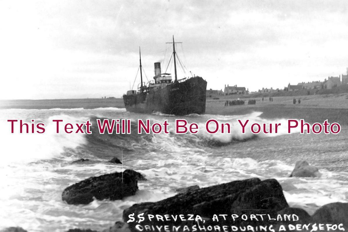 DO 1077 - The SS Prevenza Shipwreck, Portland, Dorset