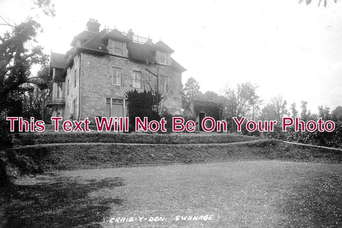 DO 1050 - Craig- Y Don House, Swanage, Dorset c1931