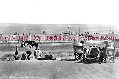ES 4058 - The Beach, Frinton On Sea, Essex c1937