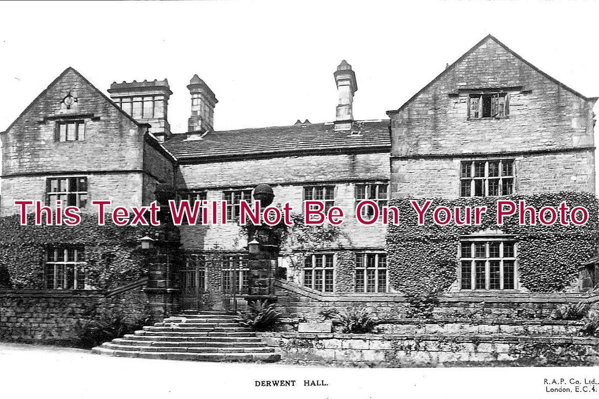 DR 1081 - Derwent Hall, Derbyshire